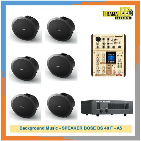 Background Music SPEAKER BOSE DS 40 F A5
