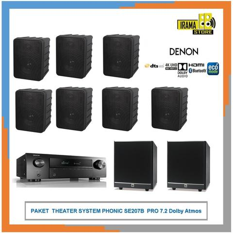 PAKET THEATER SYSTEM PHONIC SE207B 7.2 Dolby Atmos