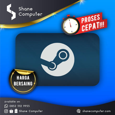 Shane Comp ● Steam Wallet IDR / USD ● HRG CIAMIK BOSS