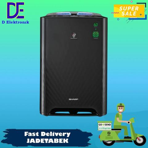 PROMO SHARP KC-A50Y-B AIR PURIFIER MURAH