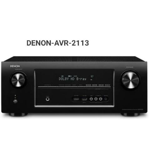 DENON AVR-2113 receiver home theatre 7.1 music streaming