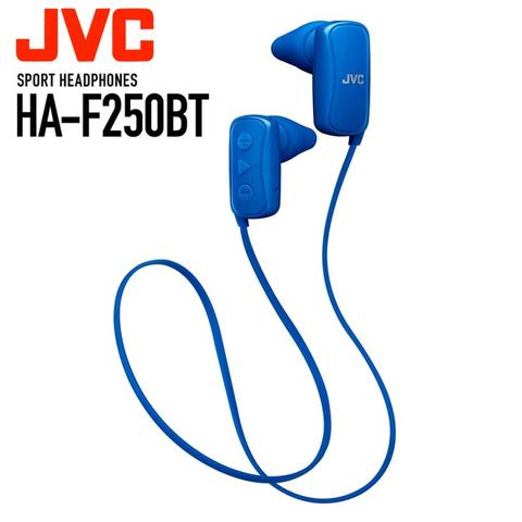 Original JVC HA-F250BT Headset Wireless Sport Gumy Bluetooth Earphone