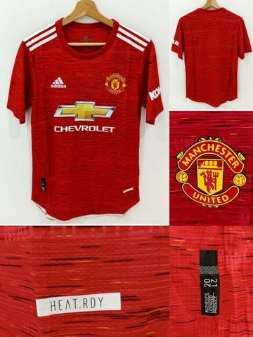 JERSEY MANCHESTER UNITED PLAYER ISSUE HEATRDY 2020-2021