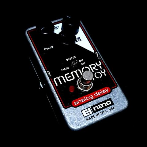 ***BILLY MUSIK*** Efek Gitar Electro-Harmonix EHX Memory Toy Analog Delay USA