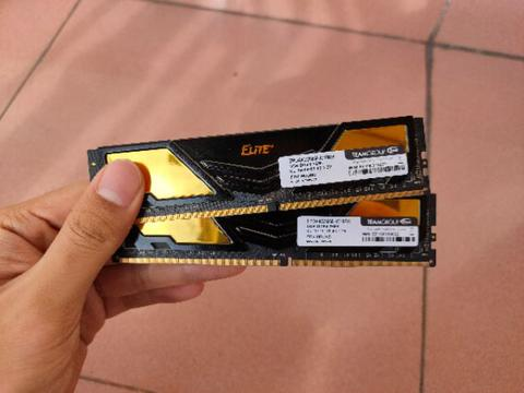 RAM Team Elite Plus Black 2x4GB (8GB) DDR4 2666MHz
