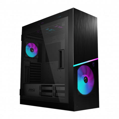 [JoJo CompTech] MSI MPG SEKIRA 500X - Tempered Glass ARGB Mid Tower E-ATX Gaming Case