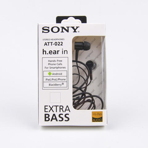 Handsfree Headset SONY AT 022 - Earphone SONY