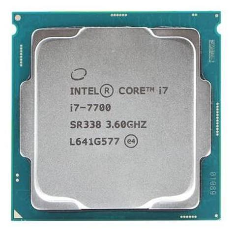 Intel Core i7 7700 3.6Ghz, Socket 1151 Processor