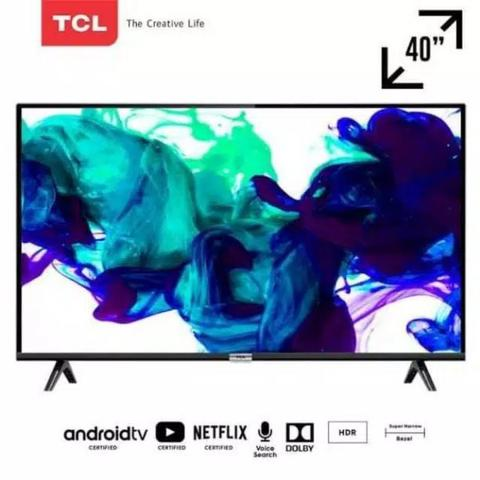 LED TV TCL 40 Inch Full HD SMART TV Android 40A3 With AI & Dolby Sound