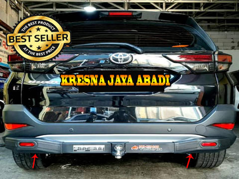 TANDUK BELAKANG / TOWING BAR RHINO ALL NEW RUSH TERIOS PLUS REFLECTOR