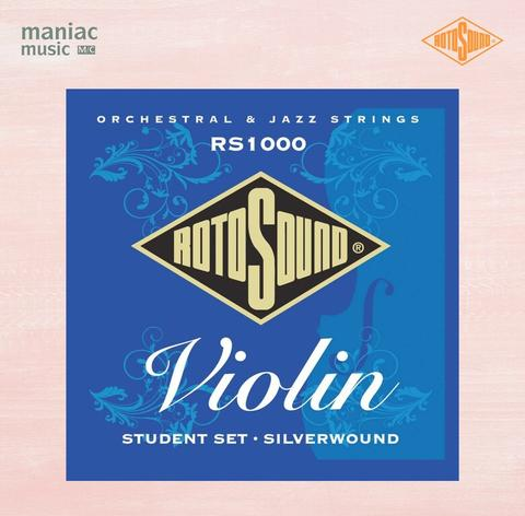 Rotosound RS1000 (Senar Violin, Silver Wound, Student Set, Medium Tension)