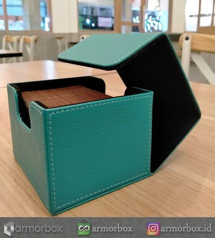 Deck Box Commander EDH 100+ Cards Double Sleeved Magic The Gathering