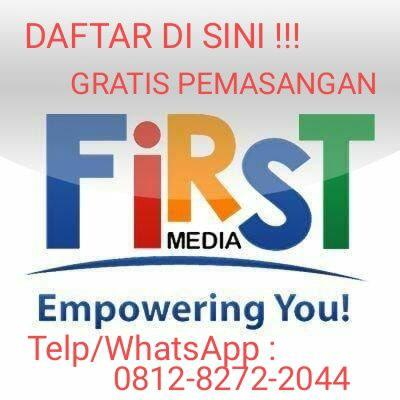 TV Cable atau Channel FIRST MEDIA Pasang Gratis WIFI UNLIMITED JABODETABEK