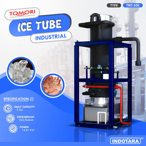 Ice Tube Machine Industrial 5 Ton Tomori TMT-50K