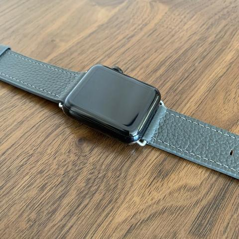 Apple Watch 42mm Stainless Steel Black series 2 original jarang ada
