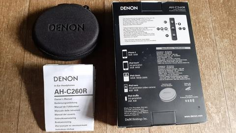 Earphone DENON AH-C260R