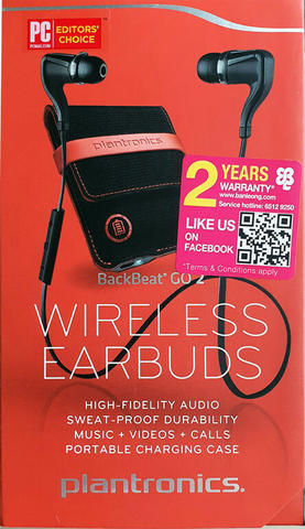 PLANTRONICS Backbeat Go 2 Original