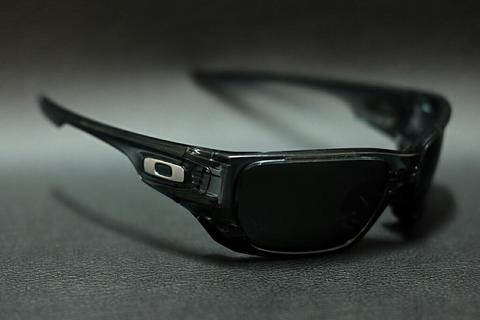 Original kacamata oakley style switch crystal black black polarize am