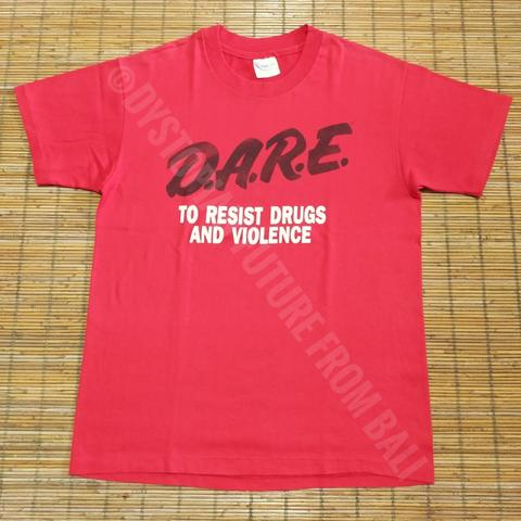 Vintage T-shirt D.A.R.E. To Resist Drugs And Violence