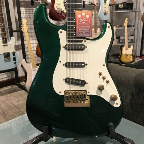 1984 SQUIER BY FENDER JV JAPAN STRATOCASTER CONTEMPORARY SERIES SHERWOOD GREEN