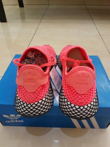 Sepatu Sneakers Adidas Deerupt Runner Turbo Original