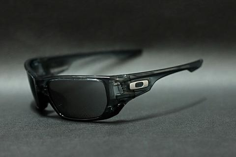 Original kacamata oakley style switch crystal black lensa black iridium