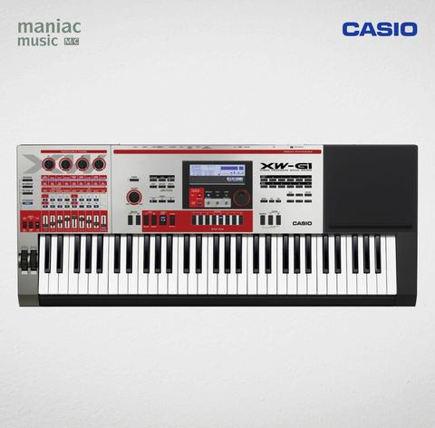 Casio XW-G1 (Synthesizer, Performance, 61 Key, Sample Looper, Sample Player)