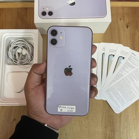iPhone 11 64gb Purple ZP/A Mulus Fullset Original