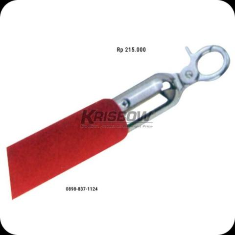 Tali Pembatas Red Rope For Handrail Silver Krisbow KW1800557
