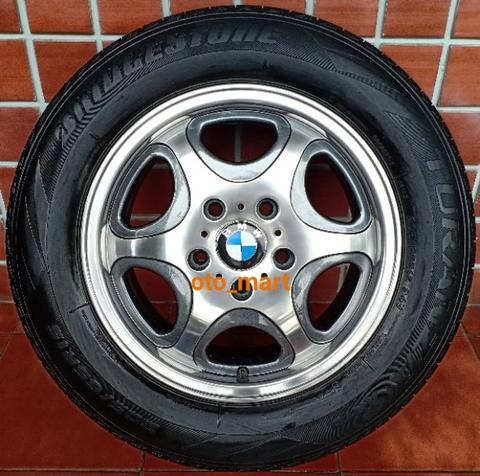 Velg BMW JRD Germany Tech R15 E36 E46 318i 320i 323i 325i 330i Pelek Ring 15 3 Series