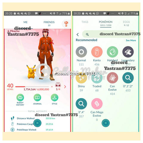 Akun pokemon go / akun pogo level 40 Valor Merah