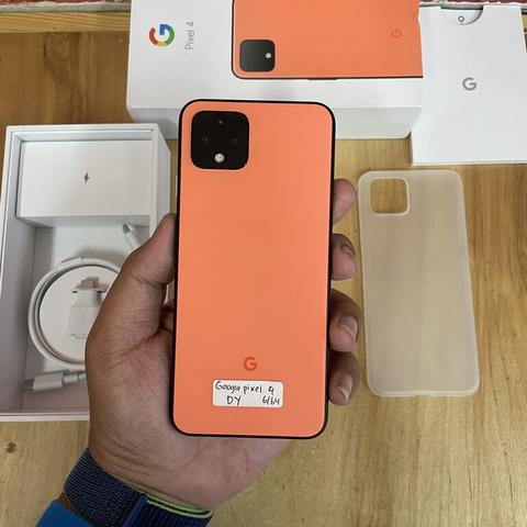 Google Pixel 4 64GB Oh so Orange Rare item Like new Fullset Original