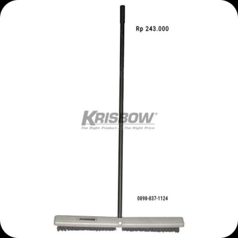 Sikat Lantai Floor Brush 18IN With Handle 18285 Krisbow KW1801374