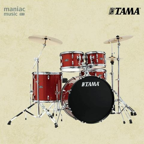 Tama SG52KH6C-SCP (Drum Set, 5pc, Stagestar, Hardware, Cymbals, Scorched Sparkle)
