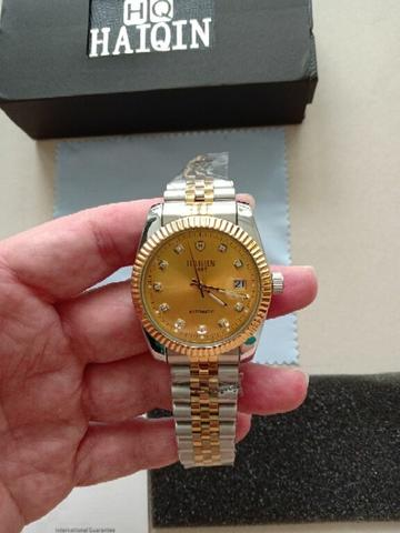 HAIQIN Datejust Perpetual Automatic Dial Gold Brand New