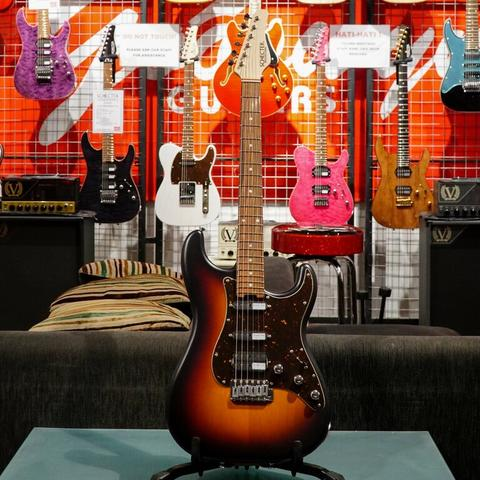 BRAND NEW SCHECTER JAPAN PS-S-ST-4-AL/GI/3TSB/PF 3 TONE SUNBURST