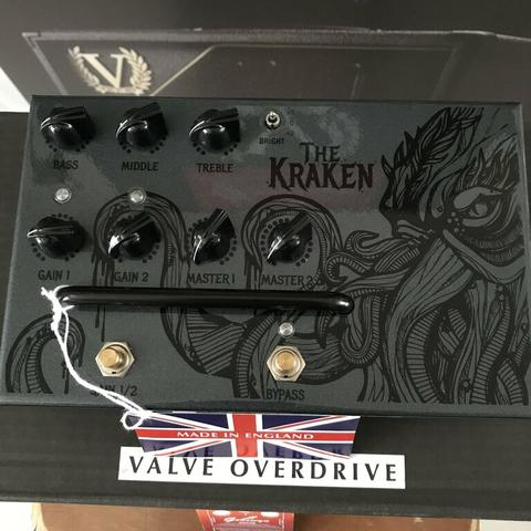 V.BRAND NEW VICTORY V4 SERIES THE SHERIFF, THE KRAKEN, THE COUNTESS PEDAL PREAMP