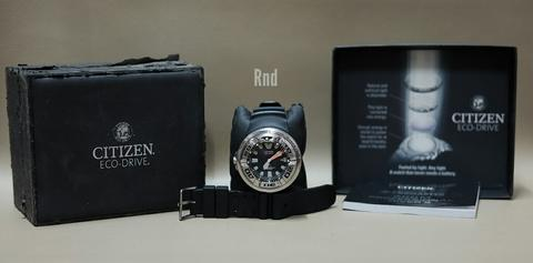 Jam tangan Citizen Ecozilla Stainless Steel BJ 8050-08E Professional Divers 300M