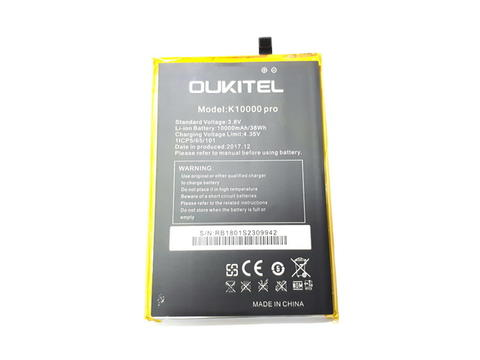 Baterai Hape Oukitel K10000 Pro New Original 100% 10000mAh Battery
