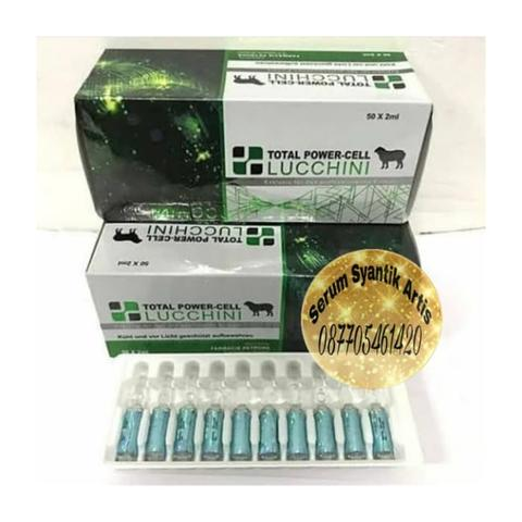 Ecer 10ampul lucchini total cell lucchini power total cell ori ecer 10