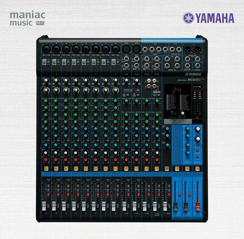 Yamaha MG16XU (Mixer, 16 Channel, 8 Mono, 4 Stereo, 4 Aux, Include FX)