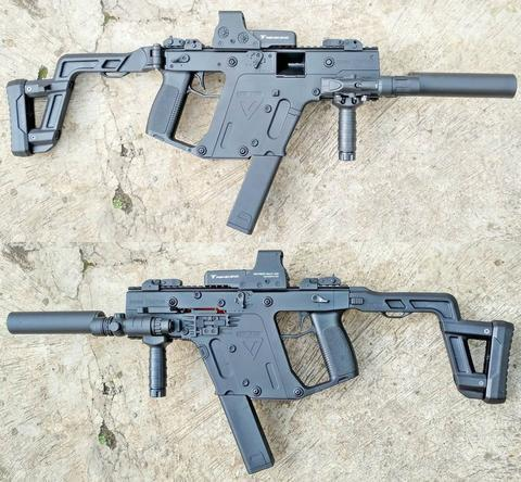 WGG SMG Kriss Super Vector (Water Gel Gun) AEG Gen 2