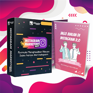 Ebook Jago Jualan Instagram & Hack Instagram Marketing 2.0