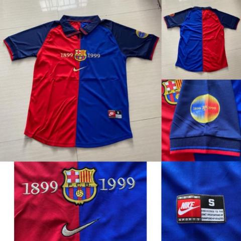 JERSEY BARCELONA 100TH SPESIAL MOMENT GAN