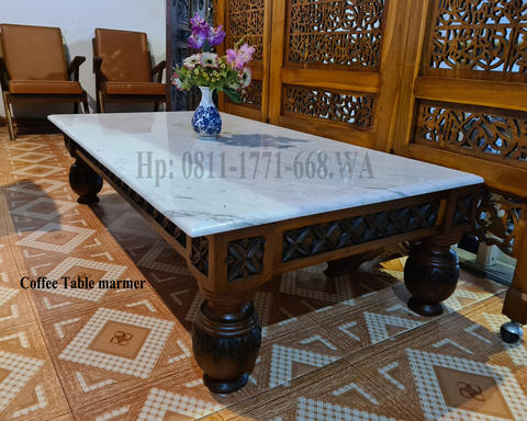 Coffee table marmer istimewa