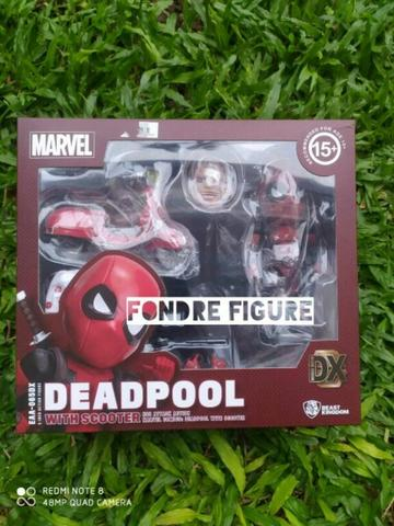 ORIGINAL EGG ATTACK ACTION DEADPOOL WITH SCOOTER EAA-065DX EAA065DX DEAD POOL MARVEL
