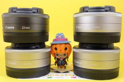 [JUAL] Lensa Fix Canon Efm 22mm f2 STM Mint Silver for EOS M 22 mm f 2 [SEMARANG]