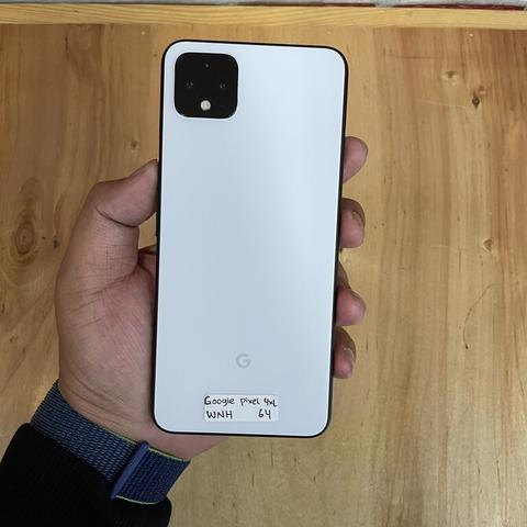 Google pixel 4 XL 64GB Clearly White Mulus Unit Charger Only