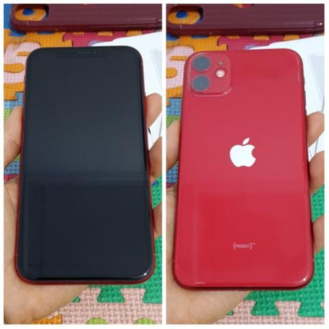 Sell Iphone 11 Red 128Gb Dual Nano Fullset Ori Bs tt