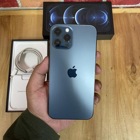 iPhone 12 Pro Max 256GB Pasific Blue Super Mulus Like new Singapore ZP